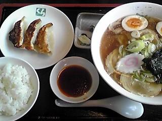 喜多方ラーメン+餃子セット