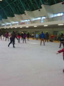 20年ぶりのスケートリンク