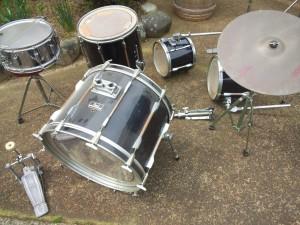 pearlのドラム