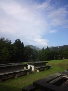 清々しい山の空気