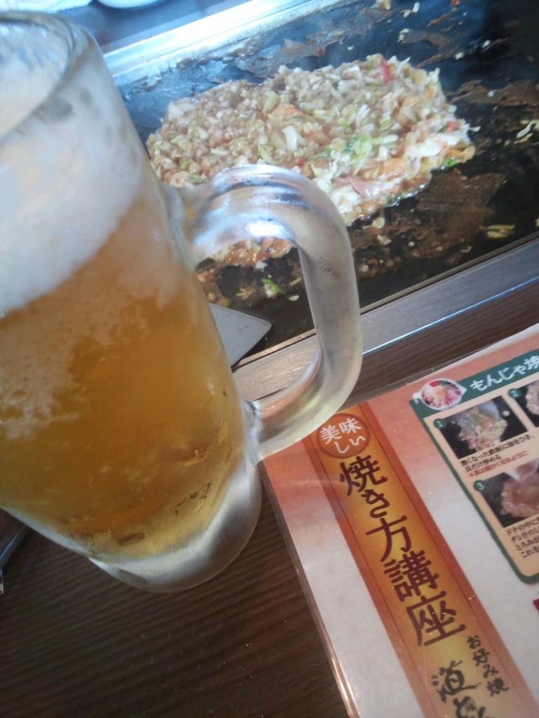 生ビール付けちゃいました!