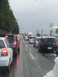8号線の渋滞