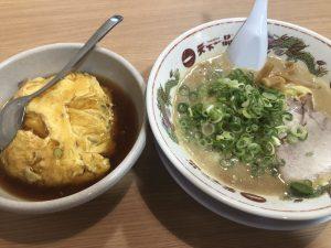 こってりラーメン+天津飯